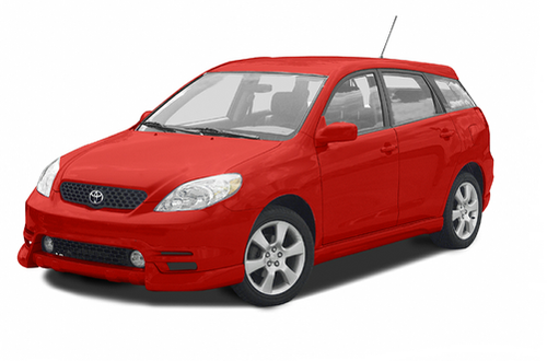 2008 toyota matrix weight