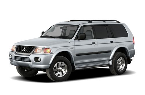 1997–2004 Montero Sport Generation, 2004 Mitsubishi Montero Sport model shown