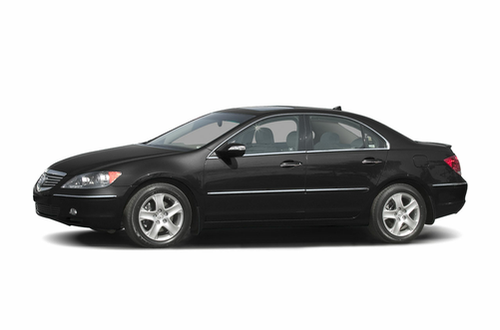 Acura RL Overview Carscom - 2005 acura rl maintenance schedule