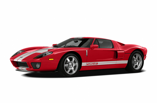 Gt Generation  Ford Gt Model Shown