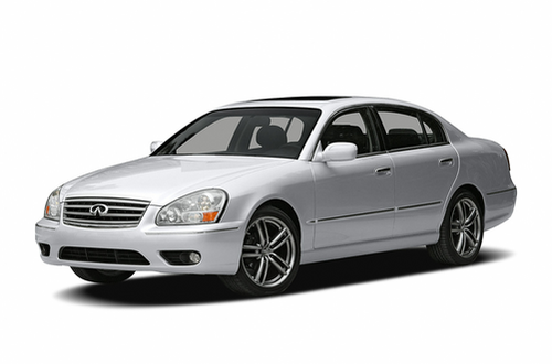 1992–2006 Q45 Generation, 2006 INFINITI Q45 model shown