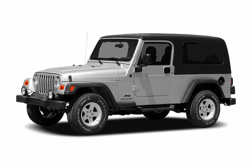 1997–2006 Wrangler Generation, 2006 Jeep Wrangler model shown