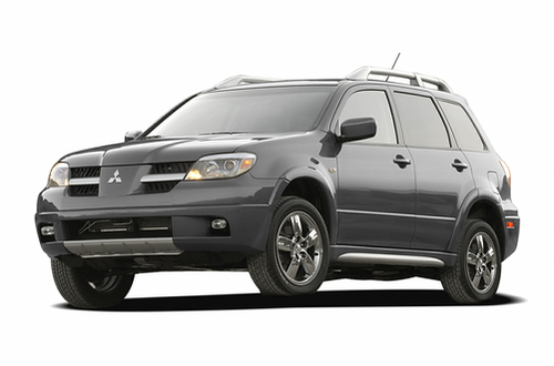 2006 mitsubishi outlander expert reviews specs and photos. Black Bedroom Furniture Sets. Home Design Ideas