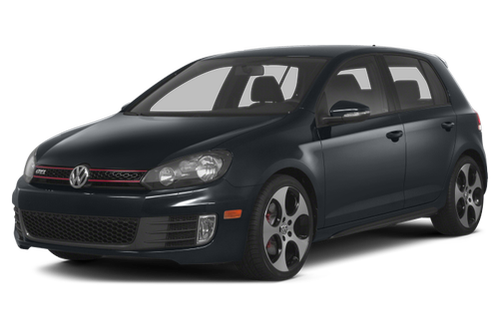 1992–2014 GTI Generation, 2014 Volkswagen GTI model shown