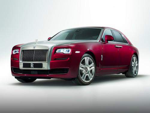 2010–2020 Ghost Generation, 2020 Rolls-Royce Ghost model shown