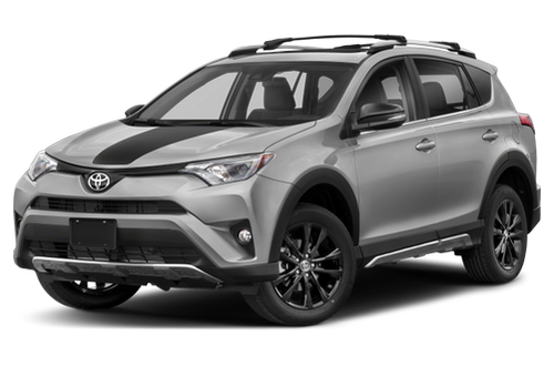 2013–2018 RAV4 Generation, 2018 Toyota RAV4 model shown