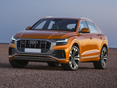2019–2021 Q8 Generation, 2021 Audi Q8 model shown