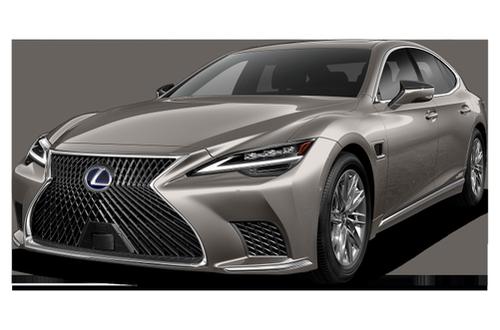 2018–2021 LS 500h Generation, 2021 Lexus LS 500h model shown