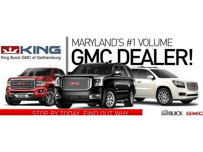 King Buick Gmc >> King Buick Gmc Gaithersburg Md Cars Com