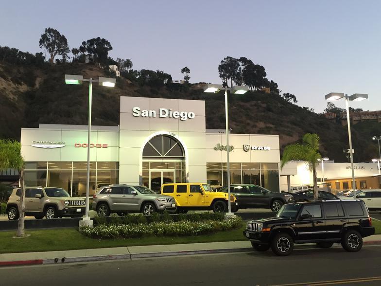 San Diego Chrysler Dodge Jeep Ram San Diego Ca Cars Com