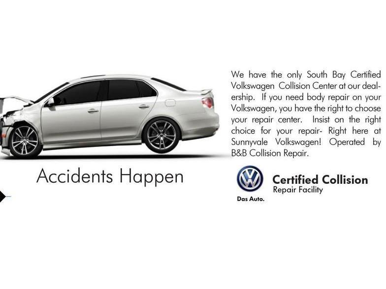 Sunnyvale Volkswagen Sunnyvale CA Carscom - Volkswagen collision repair