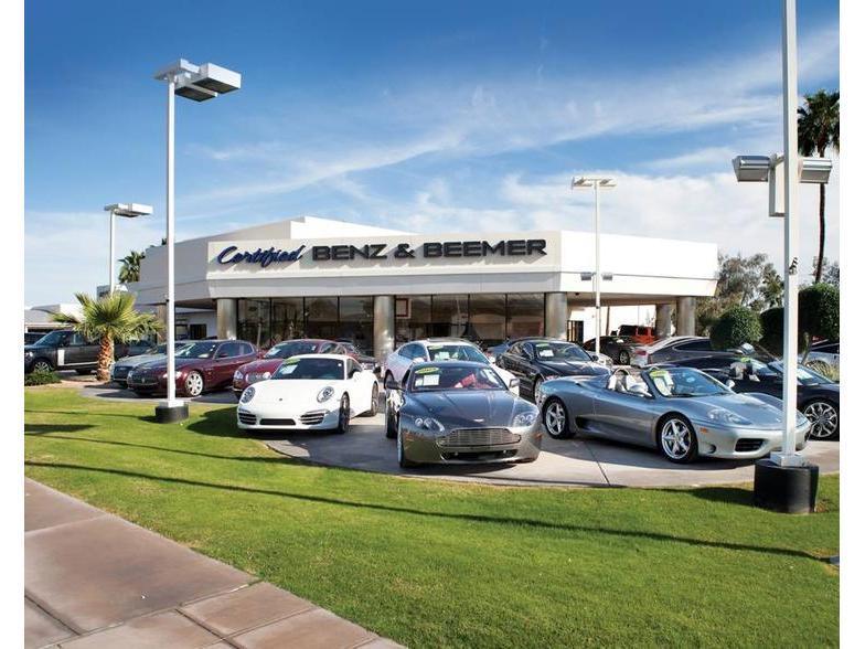Certified Benz Beemer Scottsdale Az Cars Com