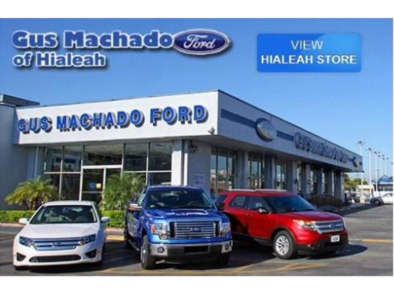 Gus Machado Ford Service >> Gus Machado Ford Hialeah Fl Cars Com