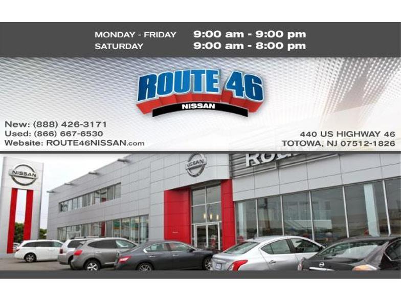 Nissan Dealers In Nj >> Route 46 Nissan Totowa Nj Cars Com