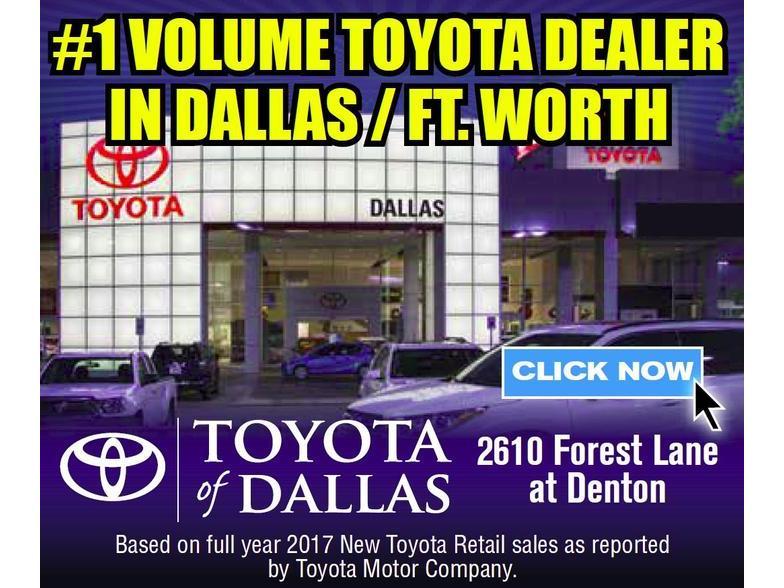 Toyota Dealerships Dfw >> Toyota Of Dallas Dallas Tx Cars Com