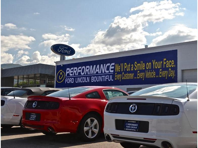 Performance Ford Bountiful >> Performance Ford Lincoln Bountiful Bountiful Ut Cars Com
