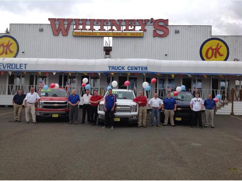 Whitney's Chevrolet - Montesano, WA   Cars com