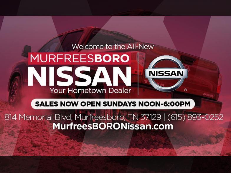 Nissan Of Murfreesboro >> Murfreesboro Nissan Murfreesboro Tn Cars Com