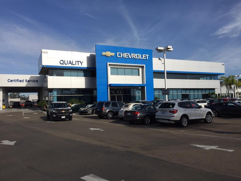 Quality Chevrolet Escondido Escondido Ca Cars Com