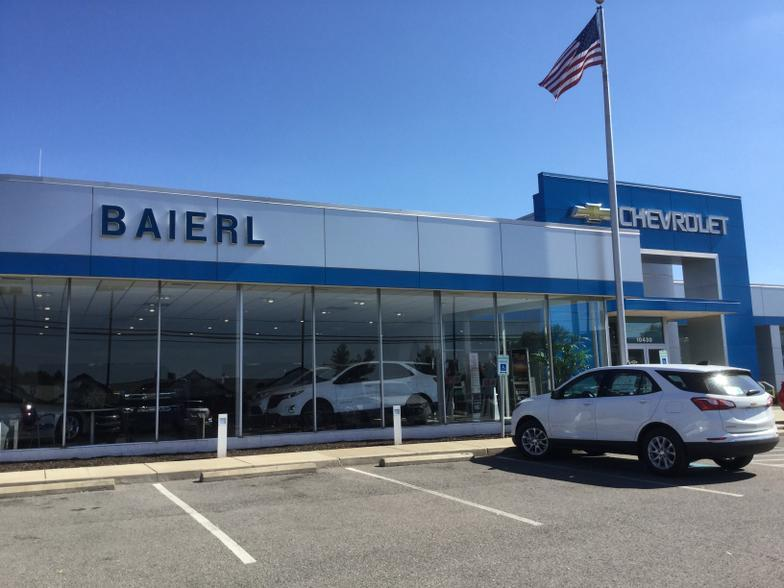 Baierl Chevrolet Wexford Pa Cars Com