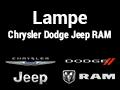 Lampe Chrysler Dodge Jeep RAM