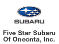 Five Star Subaru Of Oneonta, Inc.