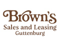 Brown's Sales and Leasing Guttenburg