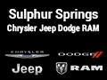 Sulphur Springs Chrysler Jeep Dodge RAM