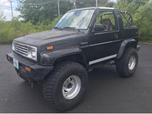 1990 Daihatsu Rocky SE