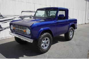 1972 Ford Bronco NO TRIM FIELD