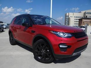 2017 Land Rover Discovery Sport HSE LUX