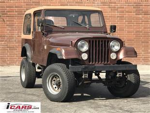 1984 Jeep CJ-7 2dr