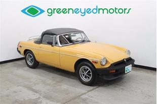 1977 MG MGB NEW TOP-EXCELLENT BRITISH ROADSTER!