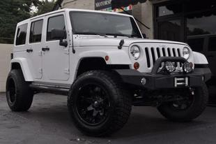 2012 Jeep Wrangler Unlimited Rubicon
