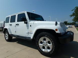 2015 Jeep Wrangler Unlimited Sahara