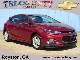 2017 Chevrolet Cruze LT 5 Door HB