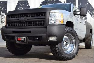 2010 Chevrolet Silverado 3500 1-CARFAX OWNER RHINO LINER COATED ENDLESS UPGRADES