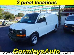 2013 GMC Savana 2500 Work Van
