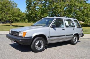 1985 Toyota Tercel Deluxe