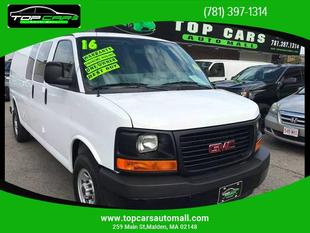 2015 GMC Savana 2500 Work Van