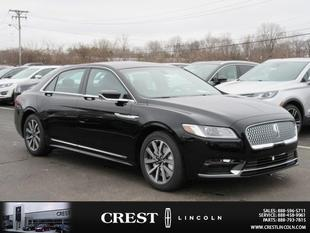 2017 Lincoln Continental Premier