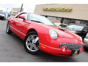 2003 Ford Thunderbird HARD TOP&EXTRA LOW MILES&SUPER CLEAN