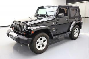 2013 Jeep Wrangler Sahara 2dr SUV 4WD (3.6L 6cyl)