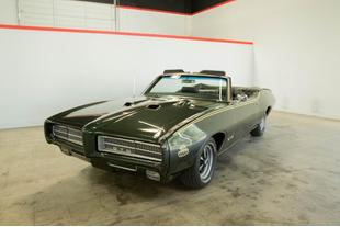 1969 Pontiac GTO NO TRIM FIELD