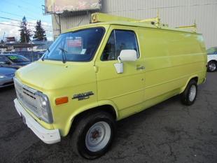1990 Chevrolet Van G30