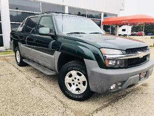 "2002 Chevrolet Avalanche 1500 5dr Crew Cab 130"" WB 4WD"