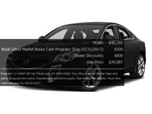 2017 Buick Regal Turbo Premium II