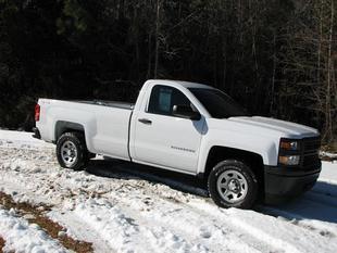 2014 Chevrolet Silverado 1500 Work Truck 1WT