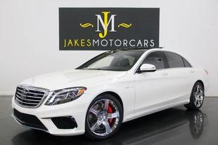 2016 Mercedes-Benz AMG S AMG S 63 4MATIC