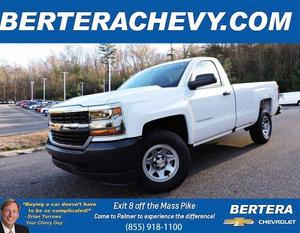 2018 Chevrolet Silverado 1500 4x4 Regular Cab